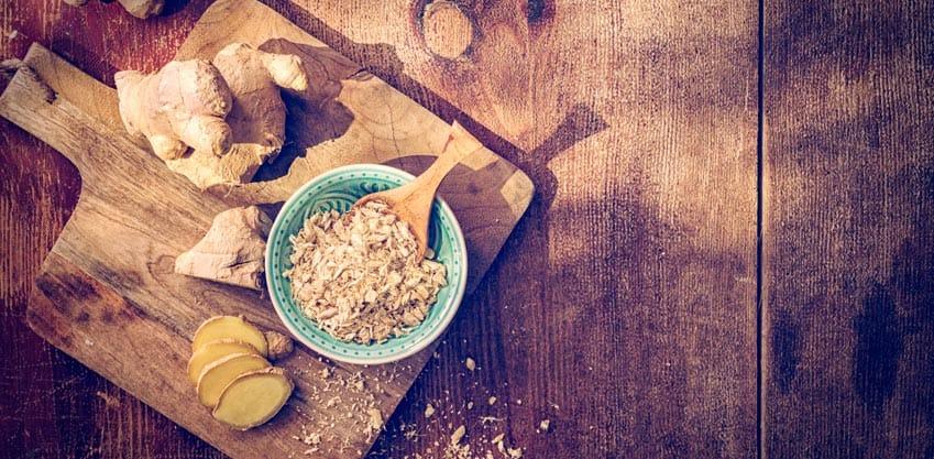 Zenzero: 5 ricette dall'aperitivo al dolce