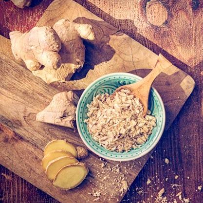 Zenzero-fresco-ingrediente-aperitivi-dolce