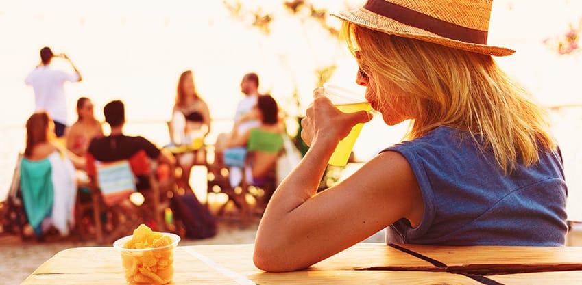Antipasti sfiziosi per un aperitivo in spiaggia