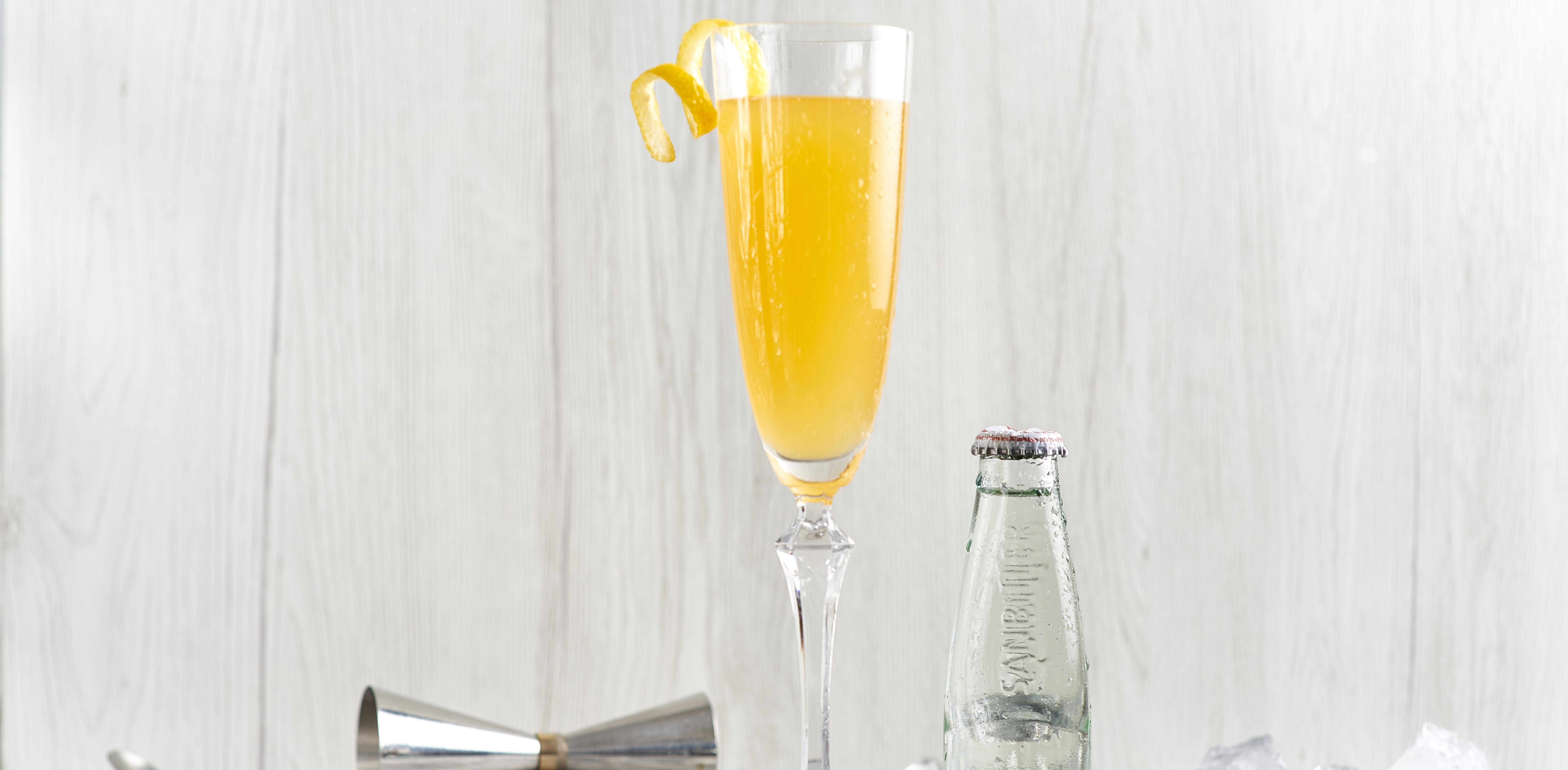 Bellini Dry cocktail