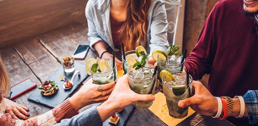 Facciamo un aperitivo a tutta felicità