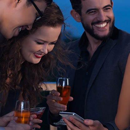 Aperitivi e smartphone