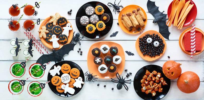 Stuzzichini per l'aperitivo di Halloween