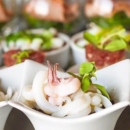 Appetizer a base di pesce