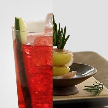 Apple Hour al Sanbittèr Rosso e spiedino profumato, la ricetta per un aperitivo impareggiabile