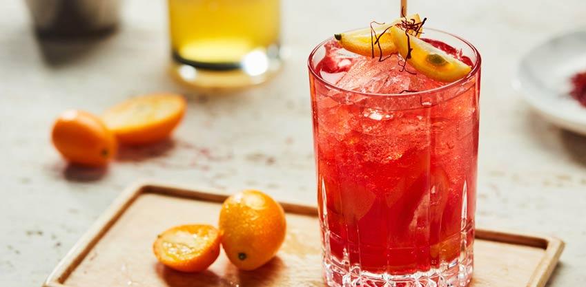 Caipibitter il cocktail di Natale al Sanbittèr rosso