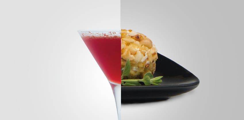 Choco Bitter e tartufini al formaggio e frutta secca