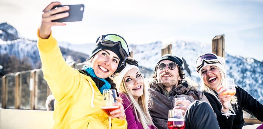 Scopri i cocktail giusti da abbinare alle tue piste da sci preferite