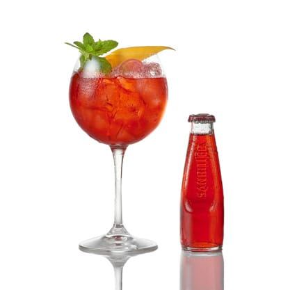 Sanset- cocktail-celebra -tramonto