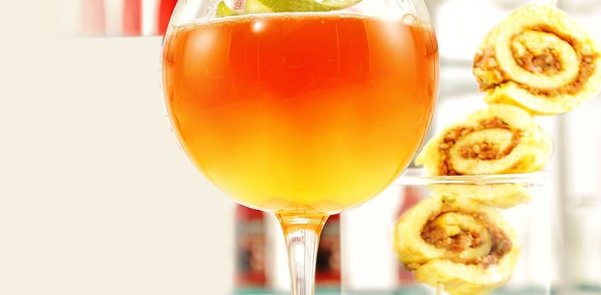 Urban Emotion, drink con miele, pompelmo, albicocca, lime e Sanbittèr Emozioni Pompelmo