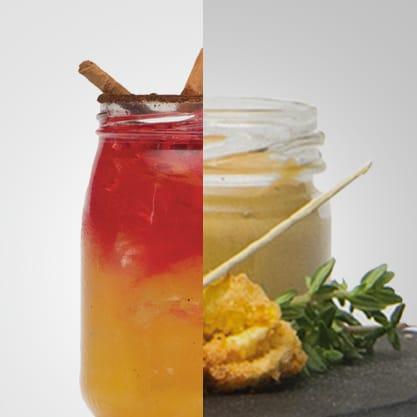 Colazione bitter e tortellini fritti con senape al miele, un drink firmato Sanbittèr e un appetizer saporito e vivace