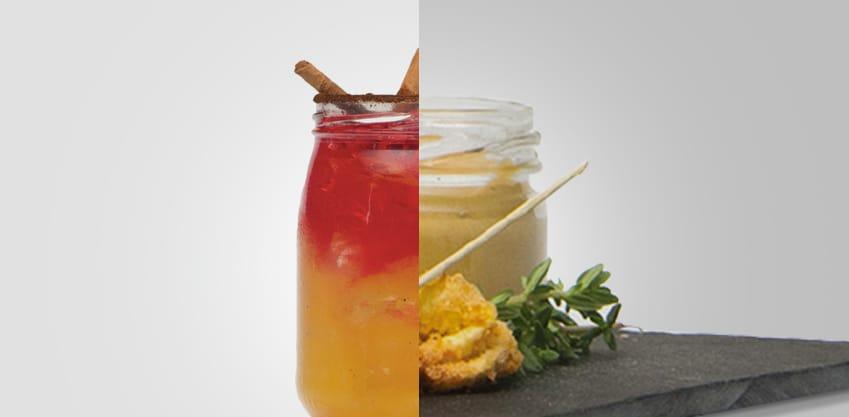Colazione bitter e Tortellini fritti con senape al miele
