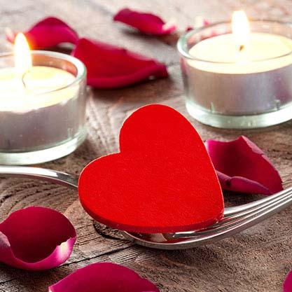 Consigli utili per l'aperitivo di San Valentino a casa