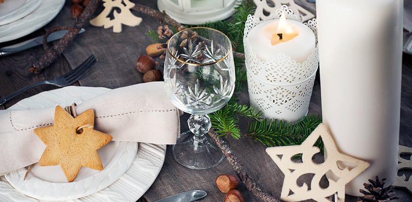Decorazioni di Natale per la tavola