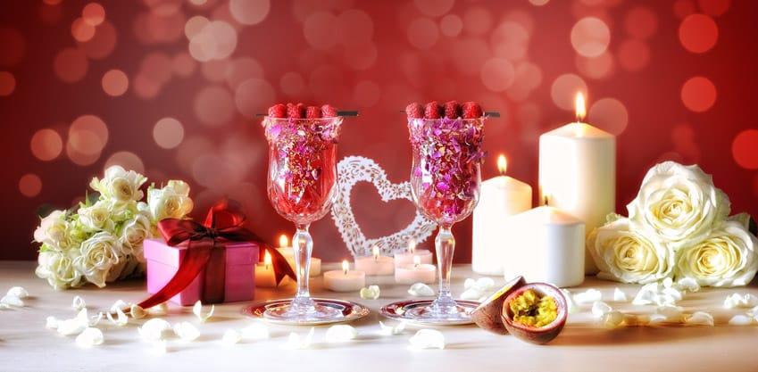 per San Valentino cocktail Amor ed Emozioni