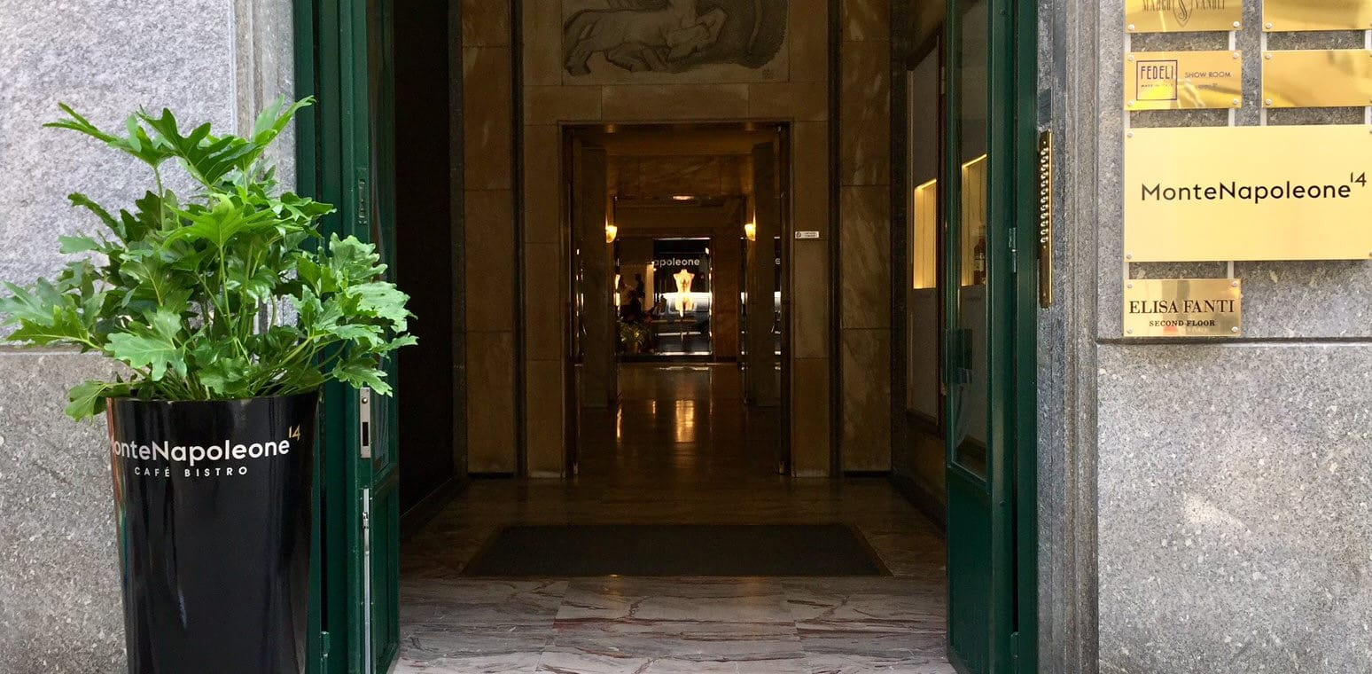 Shopping a Milano e aperitivi sfiziosi al MonteNapoleone14