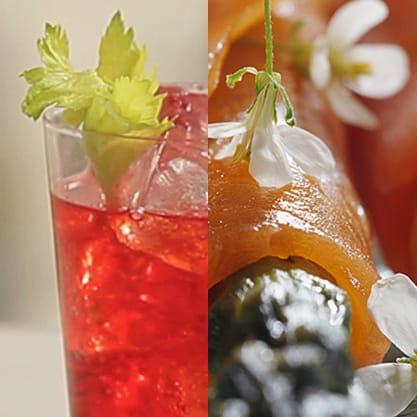 Finger food asparagi e salmone gli stuzzichini per il vostro cocktail Red Eva