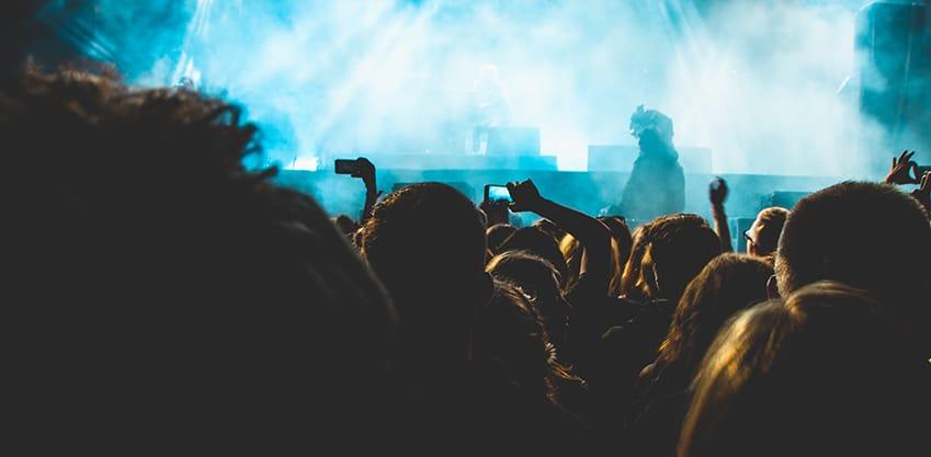 Folla al concerto di Coachella