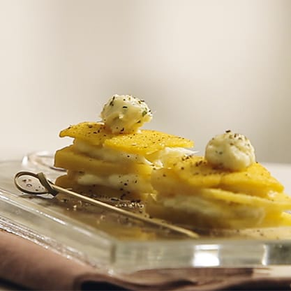 Millefoglie croccante di baccalà, ricetta dal gusto forte e deciso