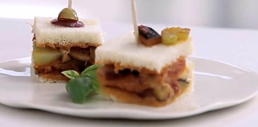 Club Sandwich di Caponata