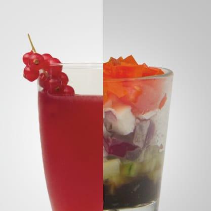 Fusion Berry e bicchierino greco, mandarino, lime e ribers nero accompagnano Sanbittèr in un aperitivo di classe