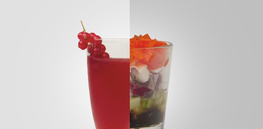 Fusion Berry e Bicchierino greco