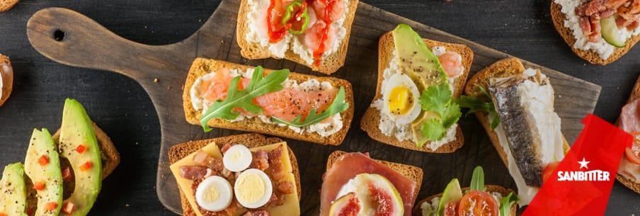 Le idee creative di Sanbittèr per impiattare il buffet: tutti i consigli per un aperitivo perfetto