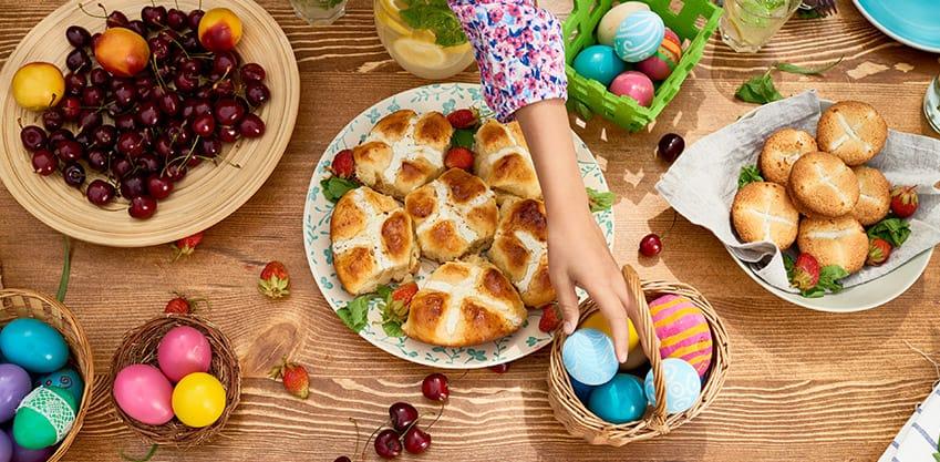 Idee e spunti per l'aperitivo di Pasqua