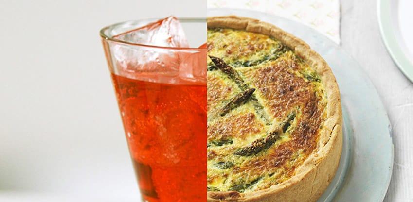 Rossotonique e tortino di asparagi