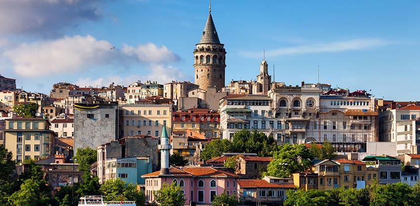Istanbul e il quartiere Beyoglu