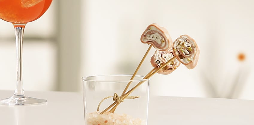 Lollipop di mortadella