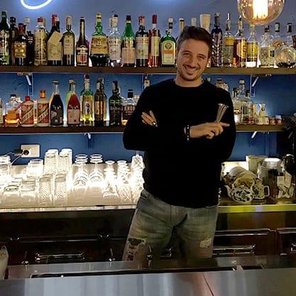 Luca Salvatore e i cocktail all'albume d'uovo Sanbittèr