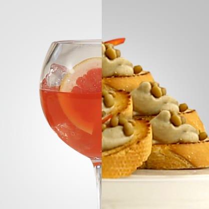 Pompelmo Hot e crostino umbro, gustoso drink firmato Sanbittèr e finger food legato alla tradizione umbra