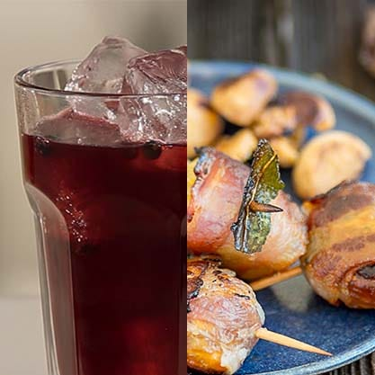 Come preparare il finger food di castagne e il cocktail baccabianca