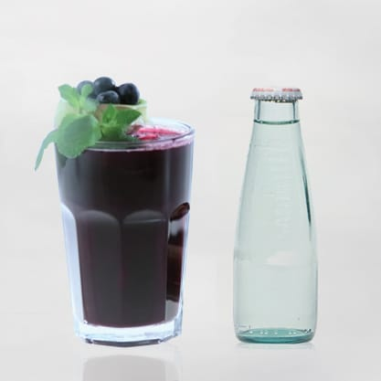 Bluberry Dry Cocktail con Sanbittèr Dry