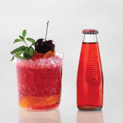 Virgin Bitter, cocktail con twist analcolico con arancia fresca e Sanbittèr Rosso