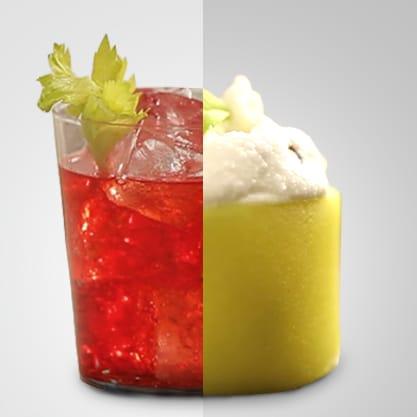 Red Eva e anelli di pasta in kit, i paccheri si trasformano in sfizioso finger food abbinato al Sanbittèr Rosso