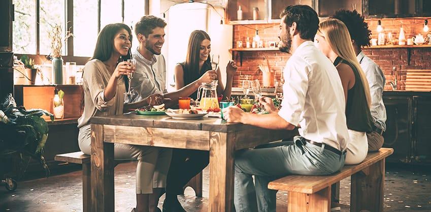 ricette per l'aperitivo invernale in casa con gli amici