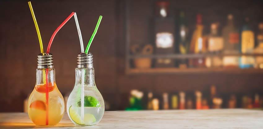 Bicchieri a forma di lampadina: il nuovo trend del 2017