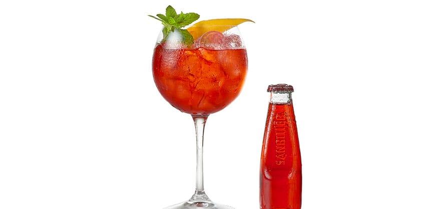Sanset Sanbitter, il drink di Natale