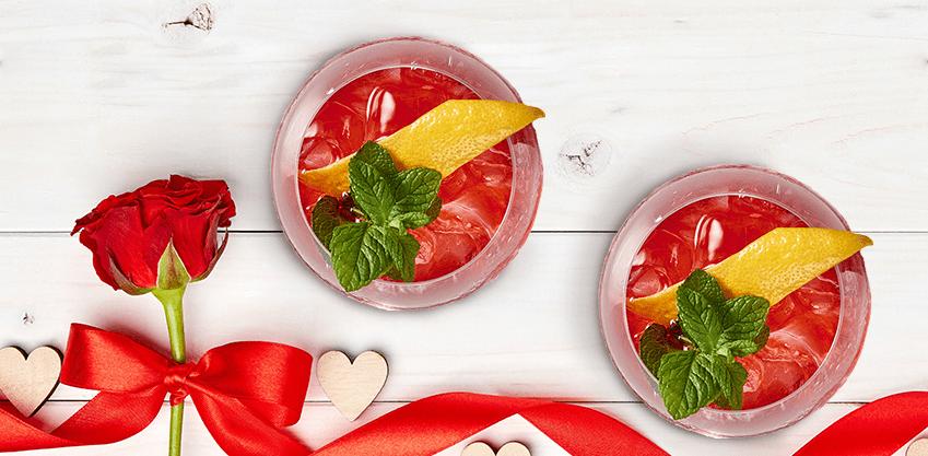 I consigli Sanbittèr per rendere unico il tuo aperitivo di San Valentino
