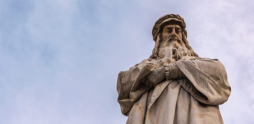 A Milano per brindare a Leonardo da Vinci