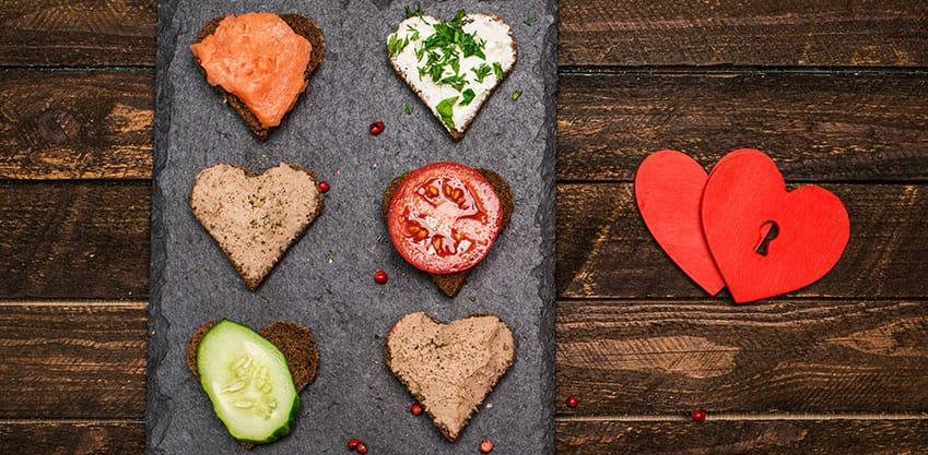Aperitivo di San Valentino: gli stuzzichini per festeggiare