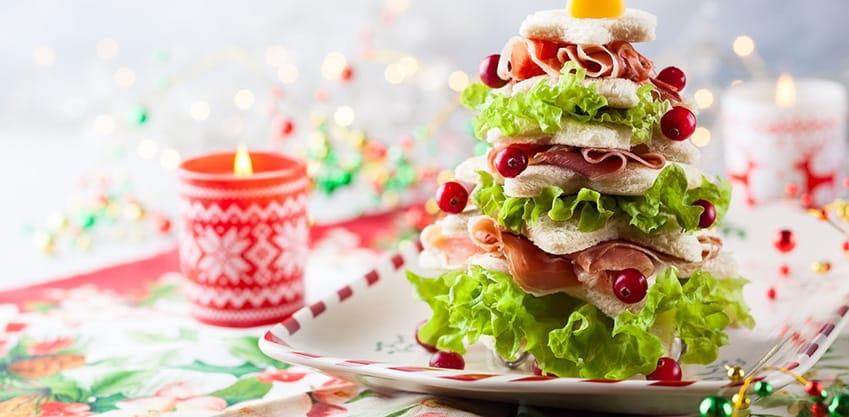 Tartine natalizie per brindare con stile