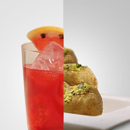 Tropicana Zen e cotoletta al cubo di zafferano, il gusto di Sanbittèr esalta la cotoletta rivisitata in chiave finger food