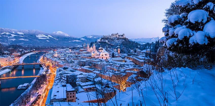 Mercatini di Natale a Salisburgo, i più belli d'Europa