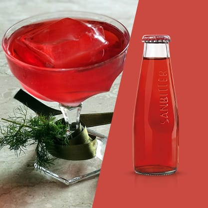 Wild Happiness, cocktail di Giacomo Fiume al Sanbittèr Rosso